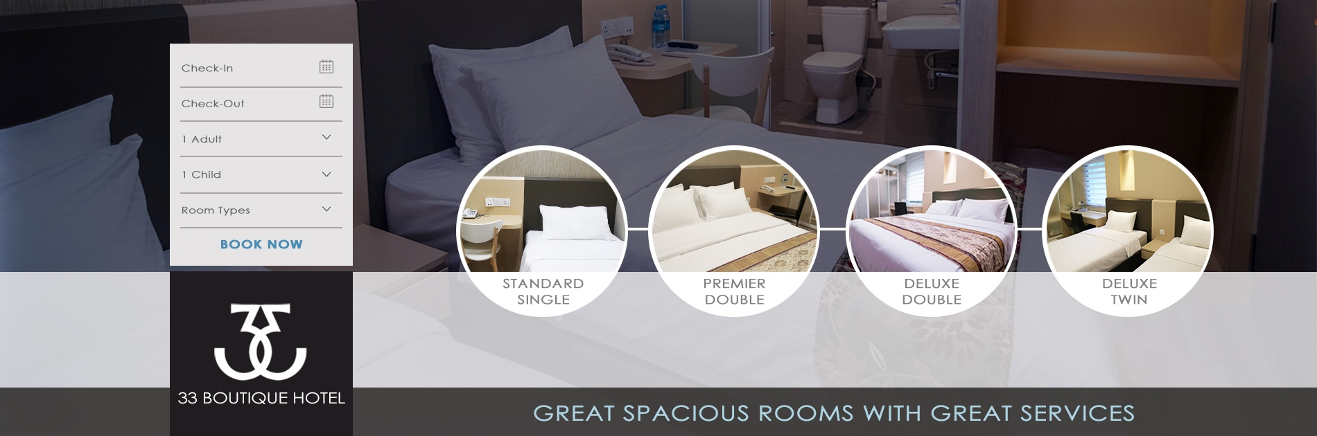 room rates header